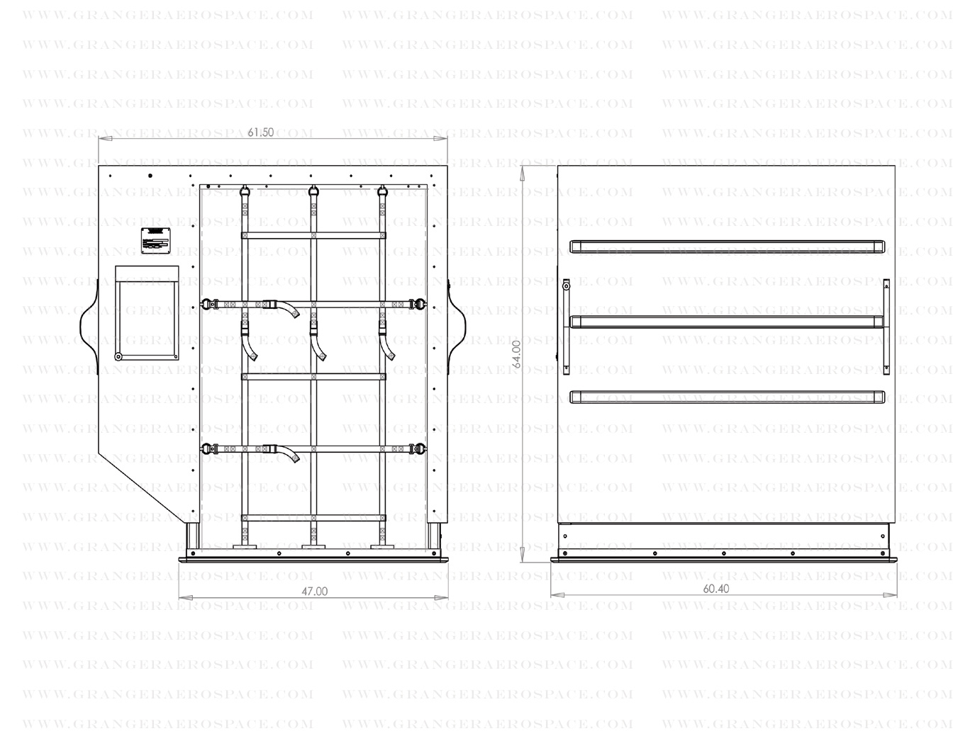LD 2 Dimensions, LD 2 Air Cargo Container Dimensions, DPE dimensions